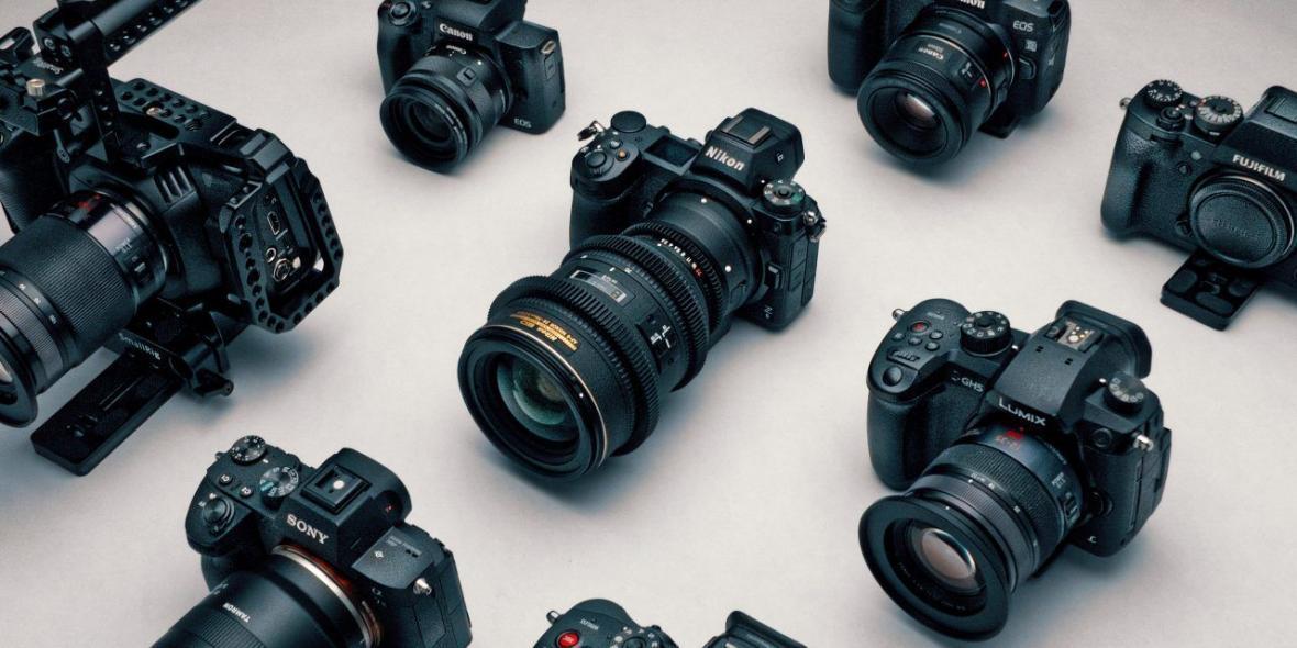 قیمت انواع دوربین دیجیتال در بازار