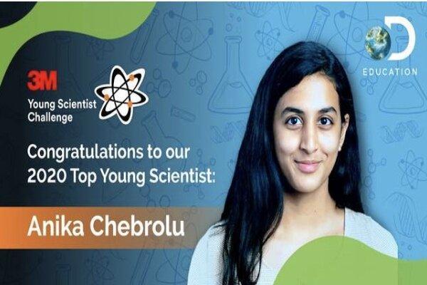نوجوان 14 ساله مولکولی برای مقابله با کووید19 ساخت