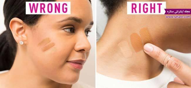 8 اشتباه در آرایش صورت که زیبایی را از شما می گیرد!