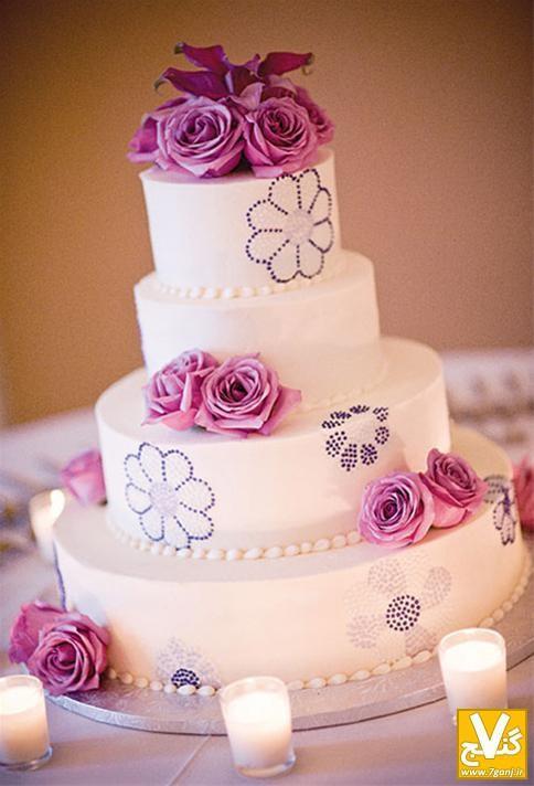 زیباترین و جدیدترین مدل های کیک عروسی 2014