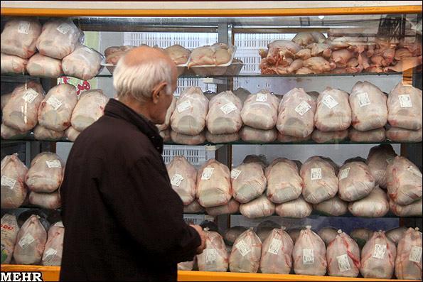 قیمت مرغ 20 هزار و 400 تومان است، برخورد با گران فروشان مرغ