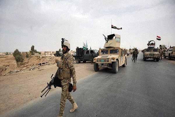عملیات ارتش و حشد شعبی عراق در محور جنوبی سامراء