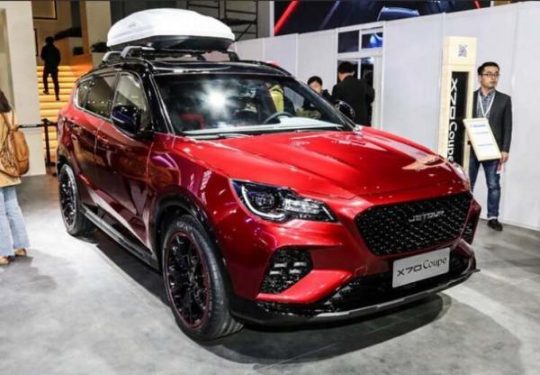 جتور x70 جدیدترین خودرو چینی در آستانه ورود به بازار ایران