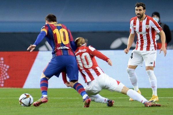 خبرنگاران قهرمانی بیلبائو در سوپرجام اسپانیا، بارسلونا؛ یک تیم کاملا معمولی