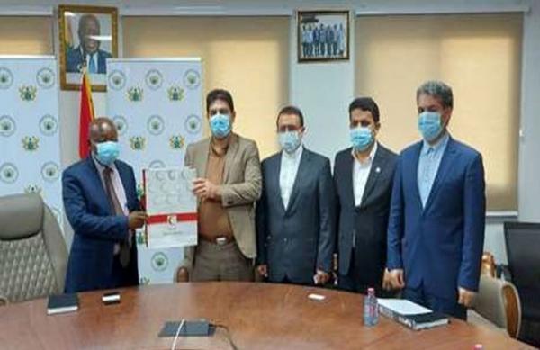 خبرنگاران وزیر بهداشت غنا از ارائه خدمات گسترده هلال احمر ایران قدردانی کرد