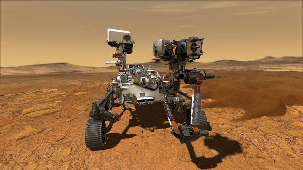 (ویدئو) اولین تصاویر کاوشگر استقامت از سطح مریخ