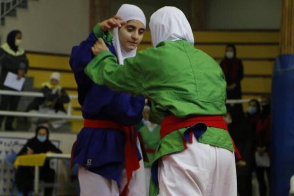 دختران اصفهان فاتح رقابتهای کوراش بانوان کشور شد