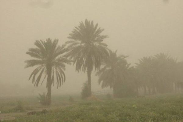 خبرنگاران تداوم گرد و غبار در خوزستان