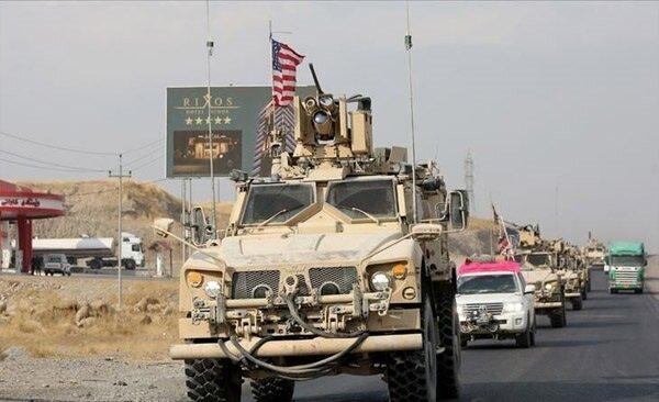 واکنش ائتلاف آمریکایی به هدف دریافت کاروان هایش در عراق