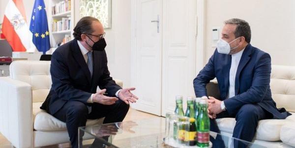 ملاقات عراقچی با وزیر خارجه اتریش