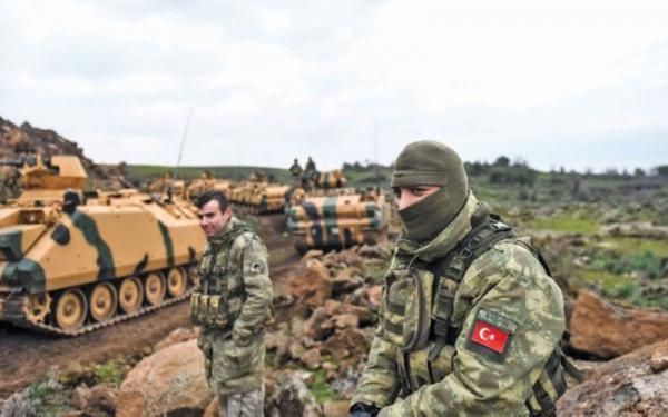 مرگ 5 سرباز ترکیه به دست پ.ک.ک