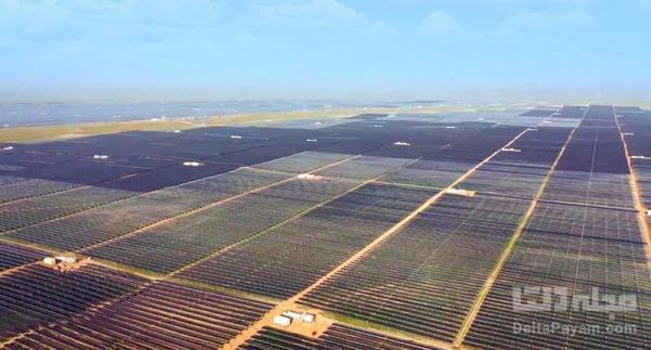 عظیم ترین سایت انرژی خورشیدی چین