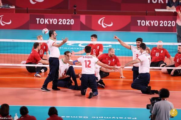 قهرمانی ایران در والیبال نشسته پارالمپیک