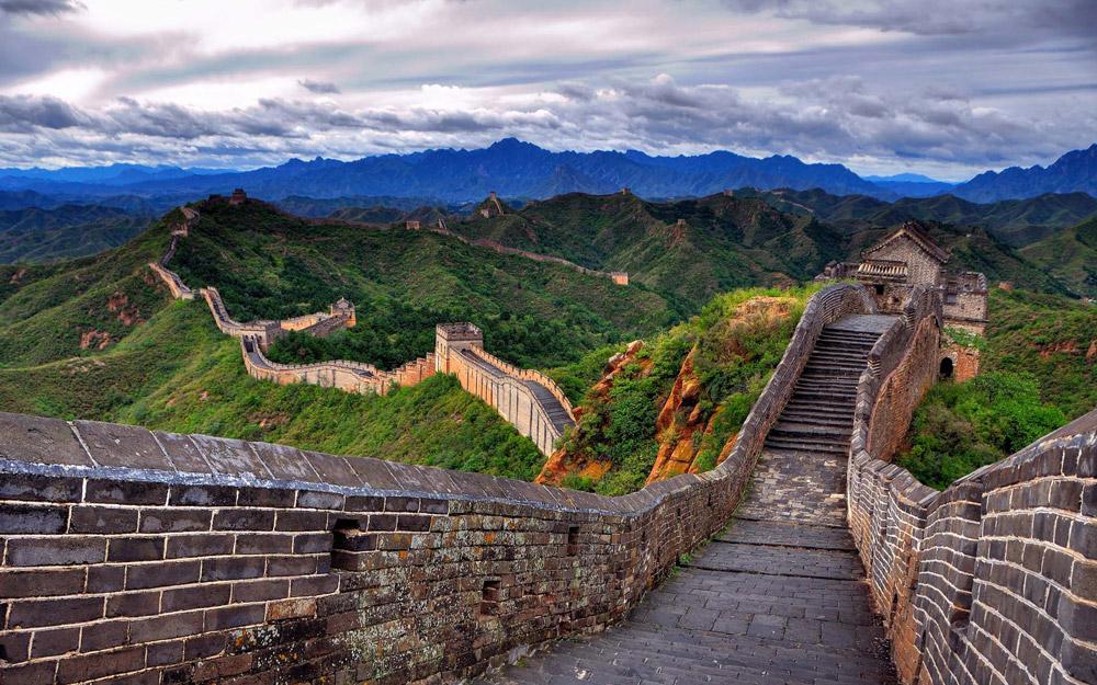 بازدید از دیوار بزرگ چین در تابستان