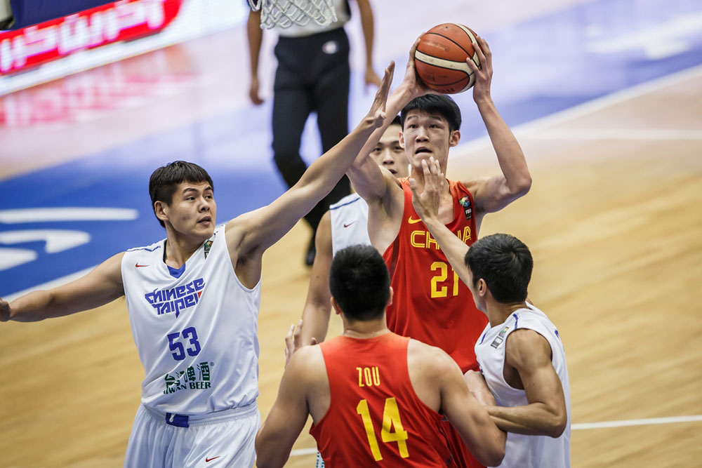 تیم ملی بسکتبال جوانان چین پنجم شد