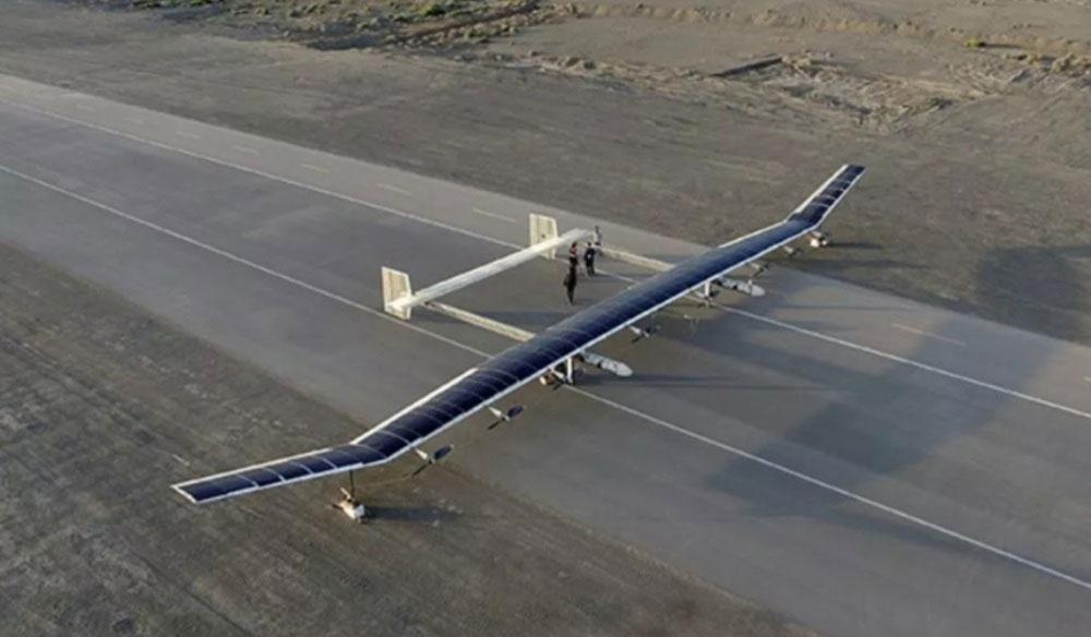 آزمایش پهپاد خورشیدی چین در فضا