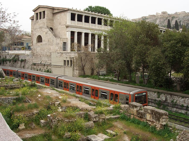 با کاخ آتالوس در آتن آشنا شوید