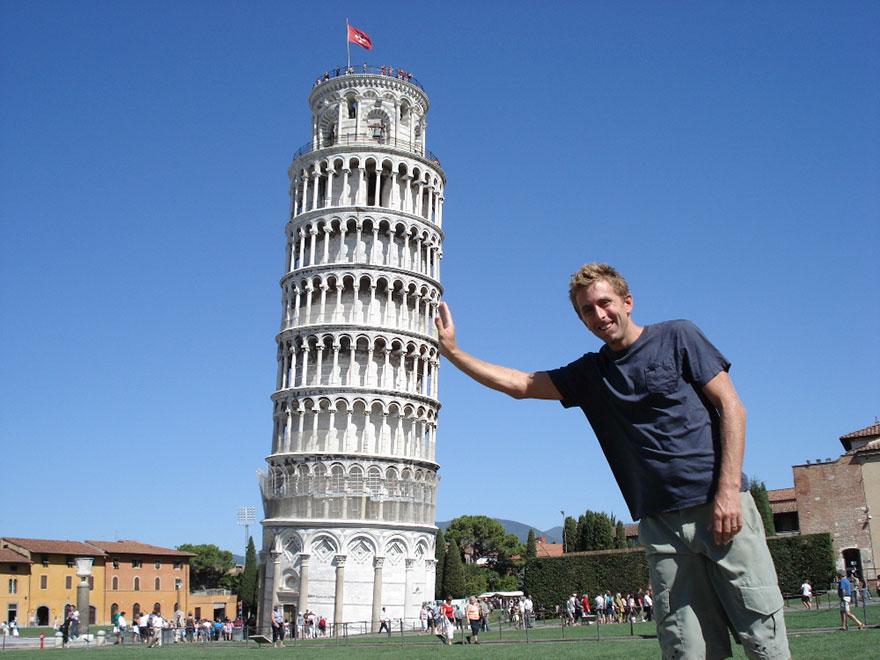 با برج پیزای معروف در ایتالیا بیشتر آشنا شوید