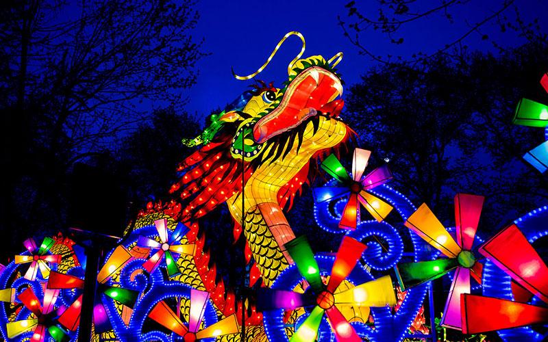 جشنواره فانوس در کشور چین