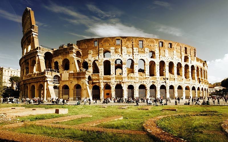 آشنایی با معماری کولوسئوم مشهورترین بنای ایتالیا